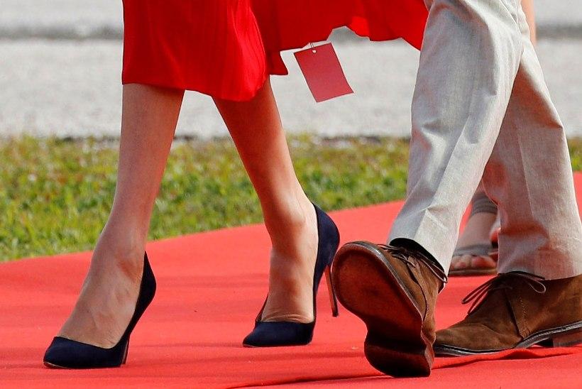 Ups! Meghan Markle'i kleidi alt välkus kuninglikul visiidil rõivatüki hinnasilt