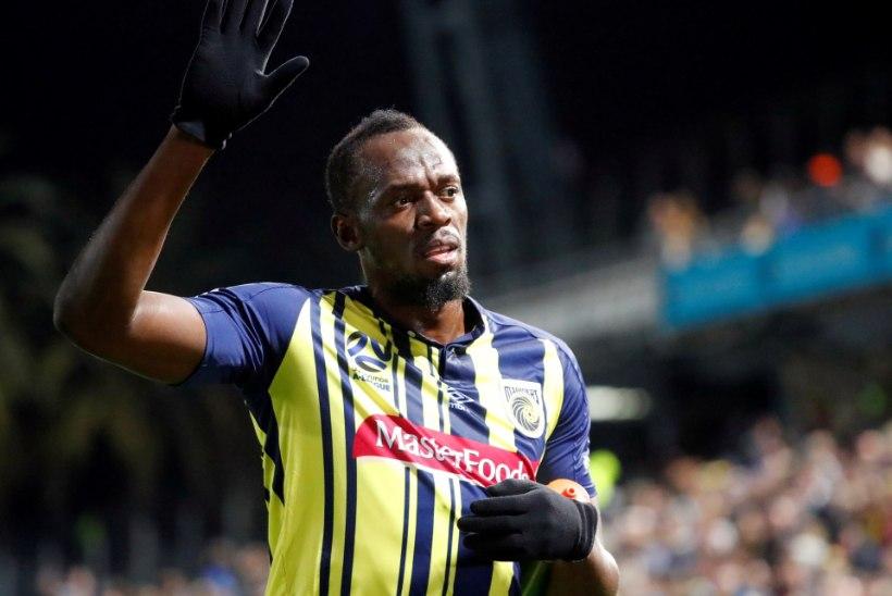 Usain Bolt andis liiga vähe raha pakkunud Austraalia klubile korvi