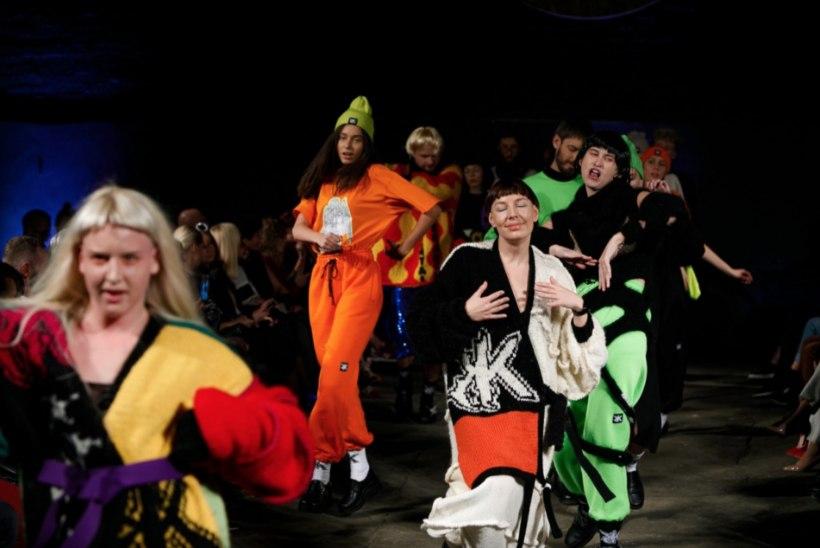 PILDID | Värkelt Kuldnõela võitnud loovhuligaan Kristel Kuslapuu pani peo püsti Lätis