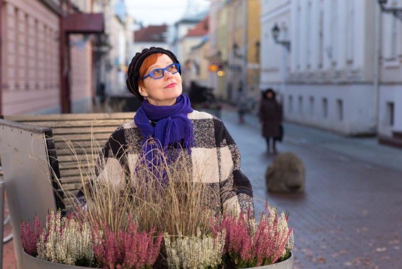 """Signe Kivi: """"Mul ei ole värvidega piire. Ma ei karda värvi, aga ma ei karda ka mittevärvi."""""""