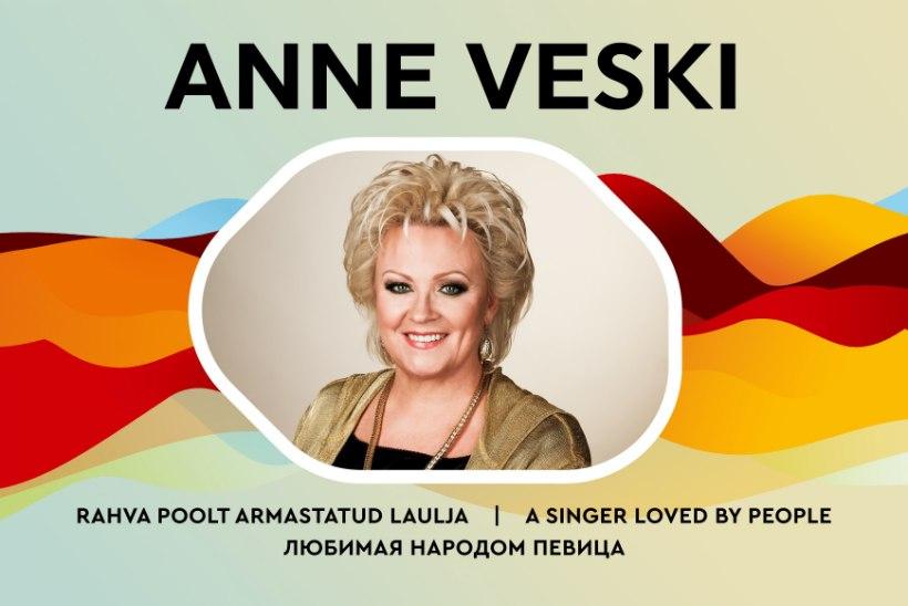Anne Veski saab omanimelise trammi