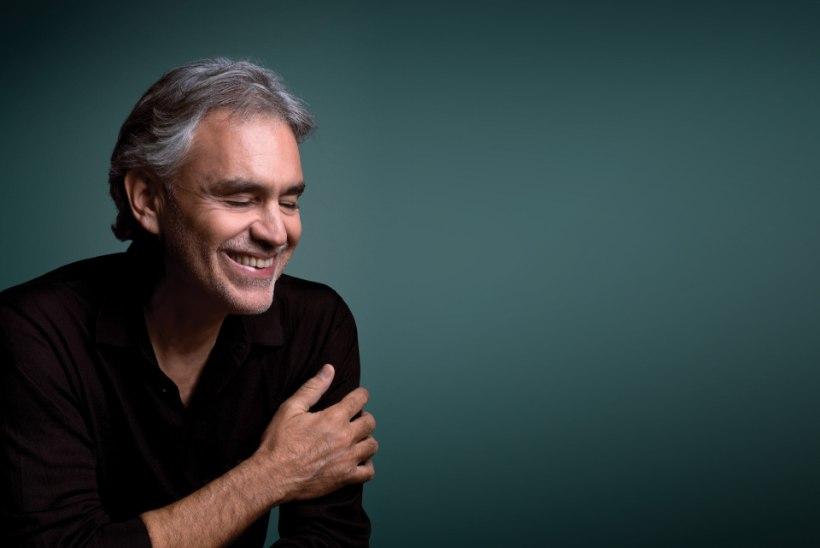 Andrea Bocelli Tallinna kontserdi piletid on nüüd müügil