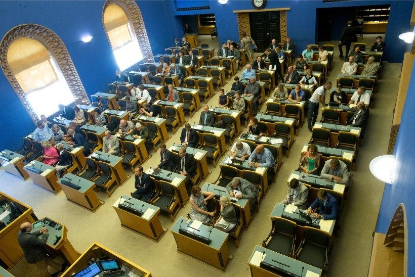 Riigikogu ei kibele kuluhüvitisi piirama