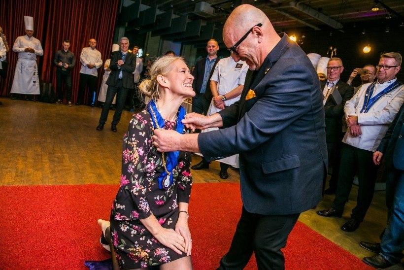 Angelica Udeküll sai esimese Eesti naispeakokana Gordon Bleu auraha