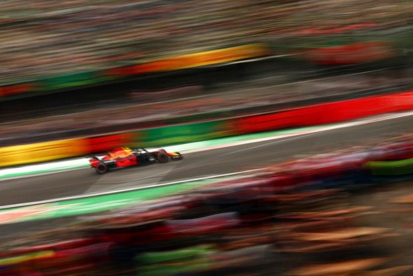 Max Verstappen andis Mehhiko GP eel korraliku tormihoiatuse