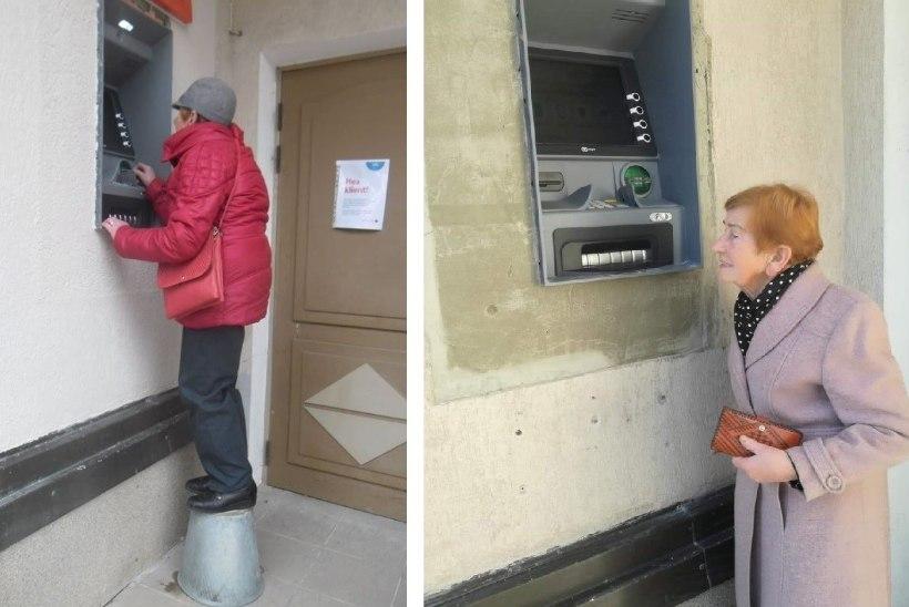 FOTO   LOOTUSETU! Räpinas tuleb jätkuvalt pangega sularaha järele minna