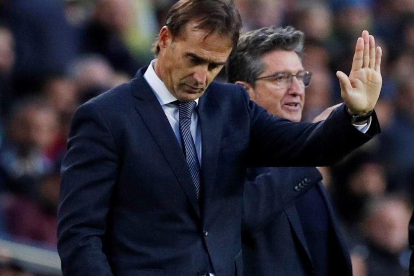 KINDEL! Madridi Real lasi peatreener Lopetegui lahti