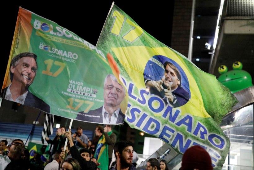 Brasiilia presidendivalimised võitis Jair Bolsonaro