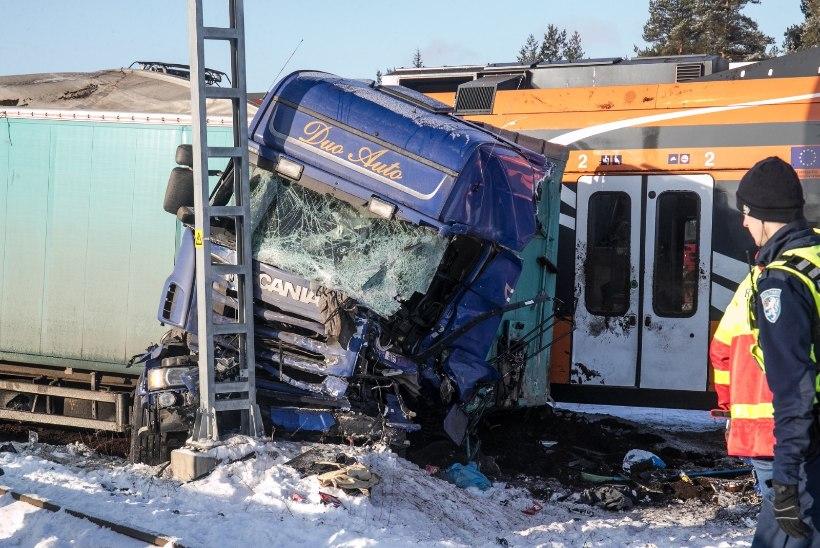 Tehnilise Järelvalve Amet rongiõnnetuses rikkumisi ei leidnud