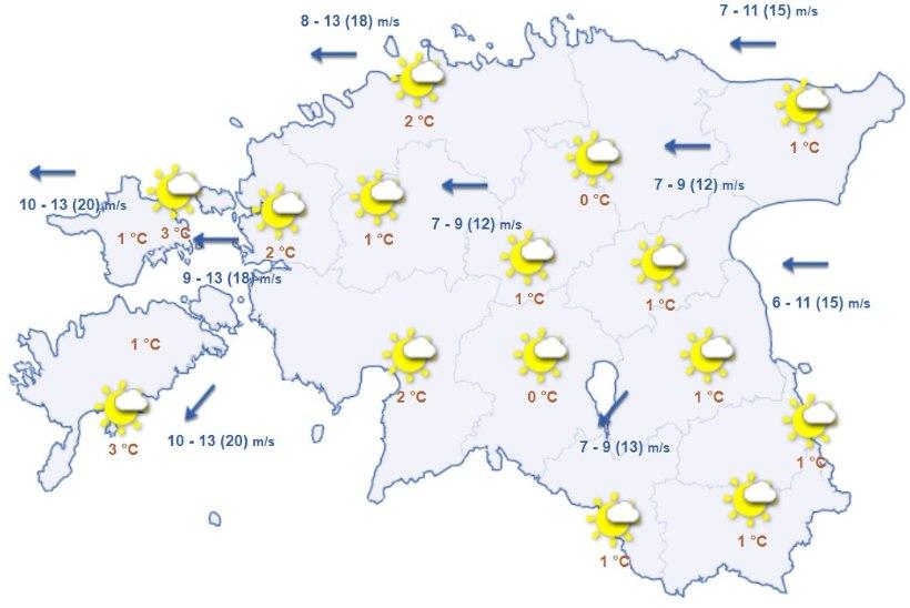 Uuel nädalal pöörab ilm tagasi soojemaks