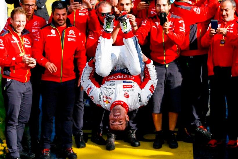 Imelise võidu saanud Sebastien Loeb võib ka tuleval hooajal WRC-sarjas osaleda