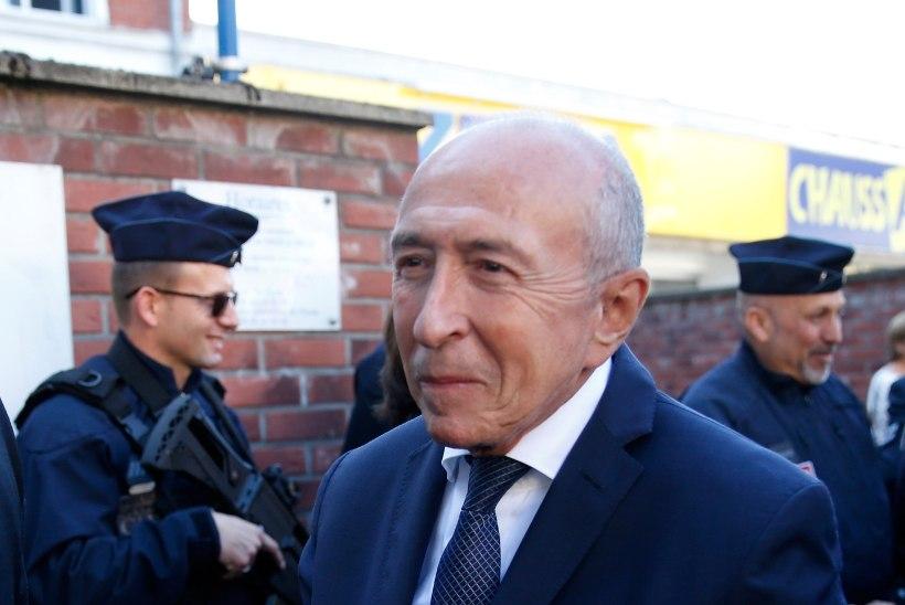 Prantsusmaa siseminister Gérard Collomb astub tagasi