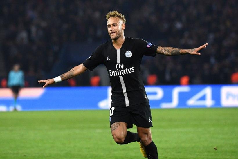 VIDEO   PSG kostitas külalisi Serbiast kena pakiga, Neymar säras kübaratrikiga