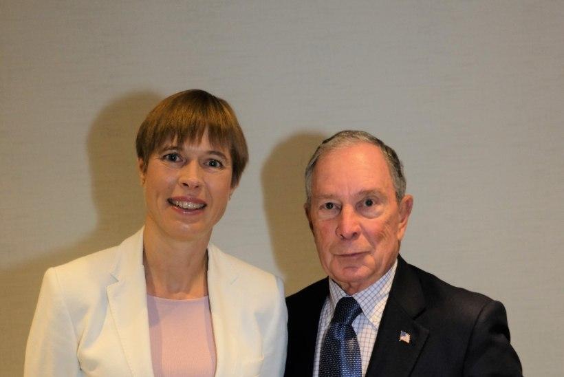 PILTUUDIS | President Kaljulaid kohtus Michael Bloombergiga