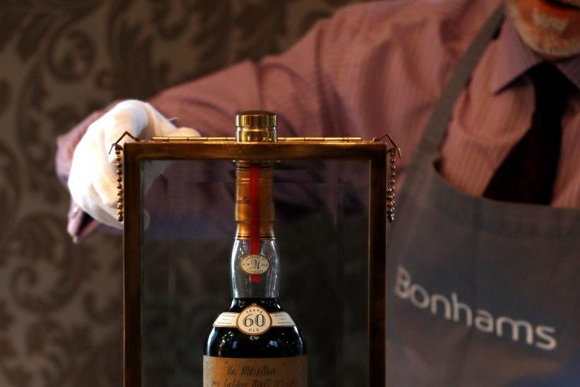KALLIS KÄRAKAS: vaata, millise rekordhinnaga müüdi äsja pudel viskit
