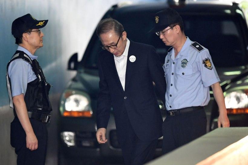 Lõuna-Korea ekspresident mõisteti 15 aastaks vangi