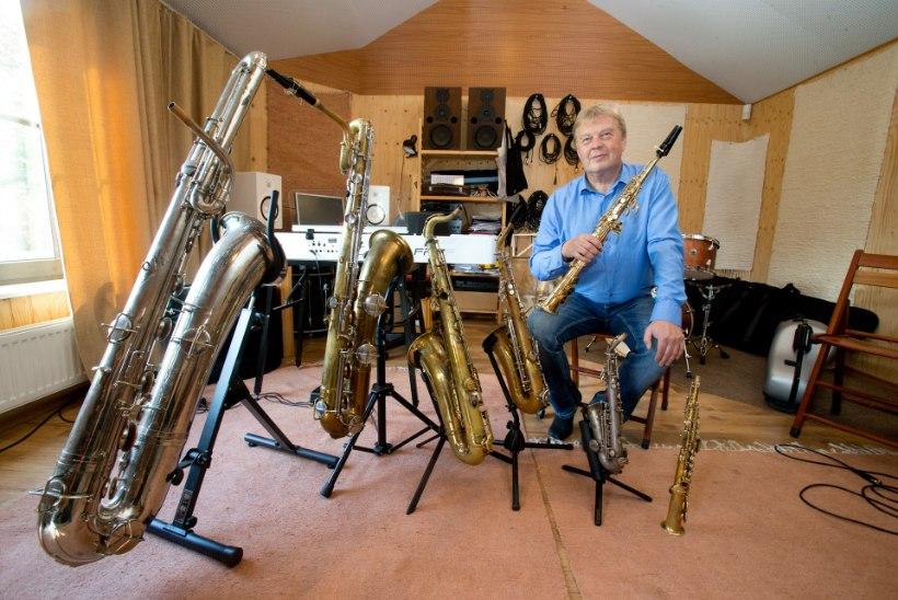Raivo Tafenau: olen unistuste saksofonide hankimiseks viina võtnud ja raudteed kokku ostnud
