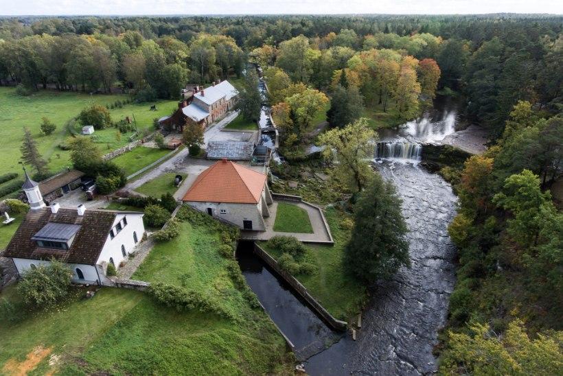 FOTOVAATLUS | Vee vägi Eestimaa hüdroelektrijaamades