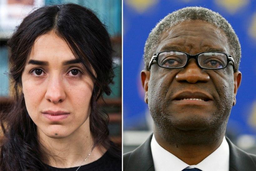 Nobeli rahuauhinna said Denis Mukwege ja Nadia Murad