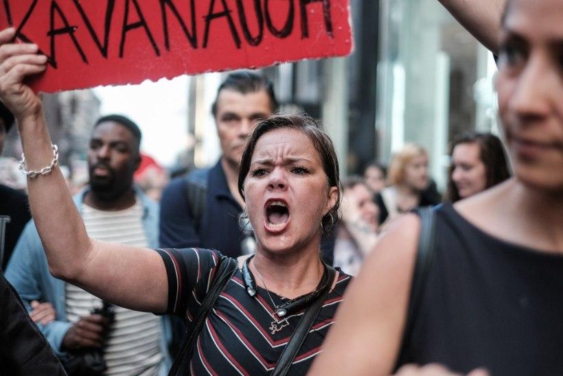 FOTOD | Vahistati sadu Kavanaugh' vastu protestima tulnud inimesi