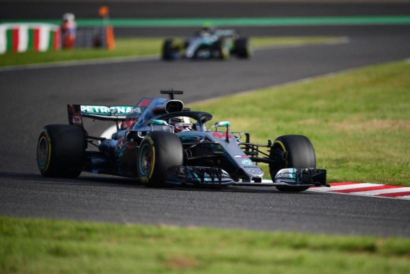 Hamilton säras kvalifikatsioonis, Vettel põrus täielikult