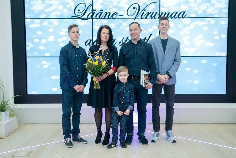Vaata, millised on tänavused Eesti sportlikumad perekonnad