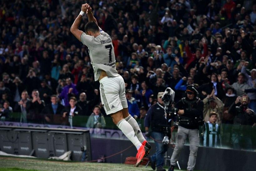 Ronaldota Reali tabas väravapõud, Ronaldoga Juventus aina võidab