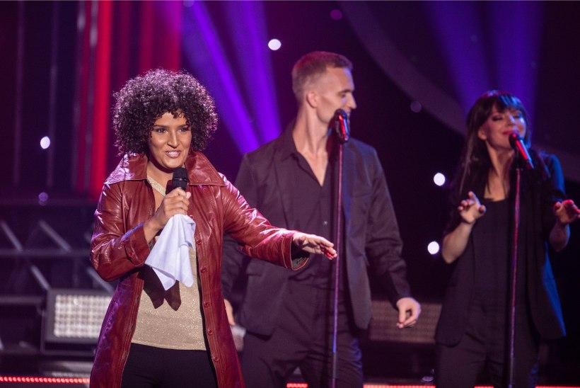 ÕL VIDEO | Marta Laan kehastus Whitney Houstoniks: kõige raskem on hääletämbrit kätte saada