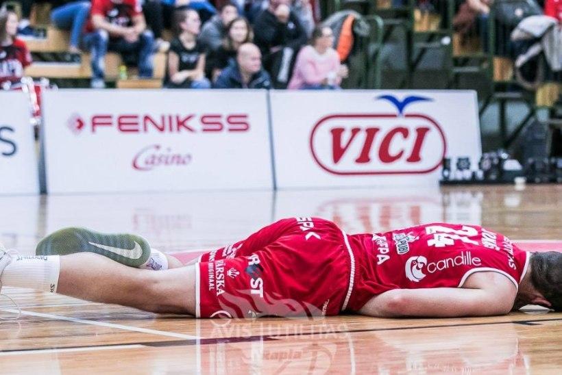 Vigastada saanud Rapla lätlasest korvpallur jääb vähemalt kuuks ajaks väljakult eemale