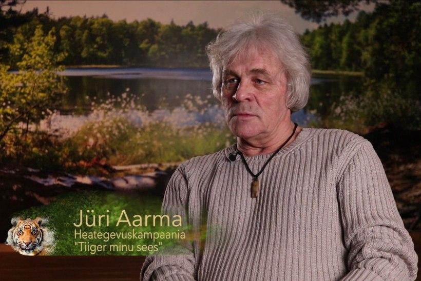 VIDEO | Jüri Aarma: inimene on siin elamist väärt, ta ei tohi muutuda vihmaussiks, selgrootuks või reptiiliks