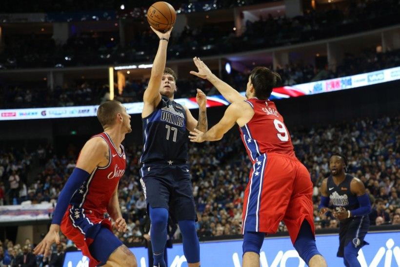 VIDEO | Luka Doncic jätkab Dallase ridades muljetavaldavalt, Spurs sai kohutava uudise
