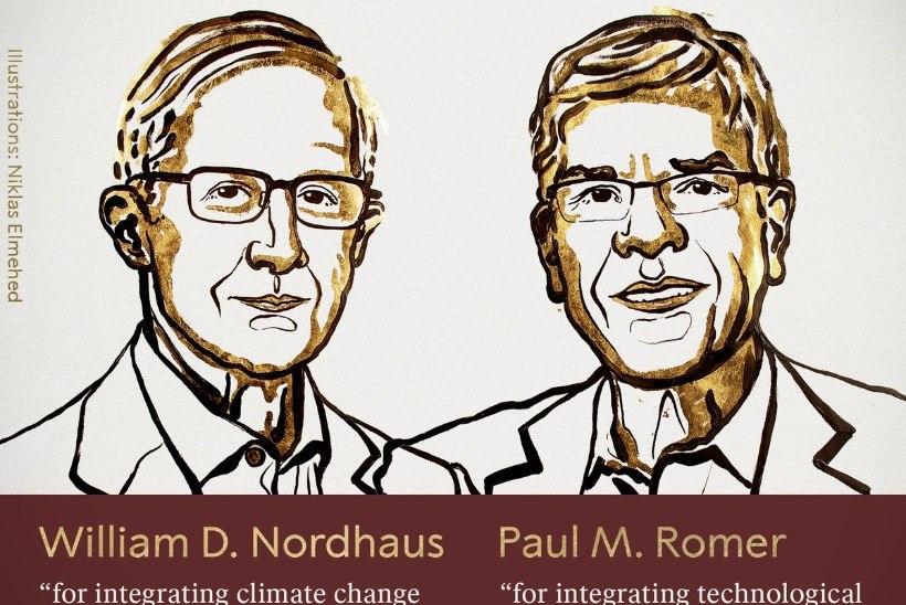 Tänavuse Nobeli majanduspreemia pälvisid majanduse ja globaalse kliima vastasmõjusid uurinud teadlased