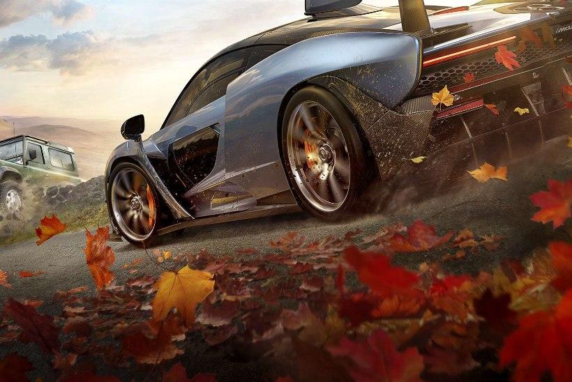 """ARVUSTUS   """"Forza Horizon 4"""" – kas tõesti parim võidusõidumäng läbi ajaloo?"""