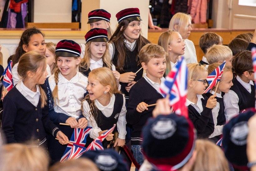 GALERII | Wessexi krahvipaar kohtus Inglise kolledži õpilastega