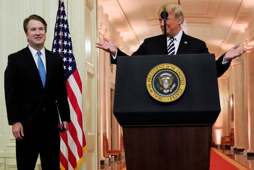 Trump palus Kavanaugh'lt ebaõiglase kohtlemise pärast andestust