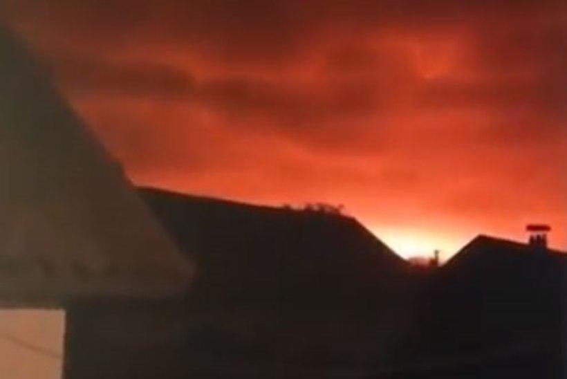 Ukraina laskemoonalaos toimusid plahvatused, evakueeriti üle 10 000 inimese