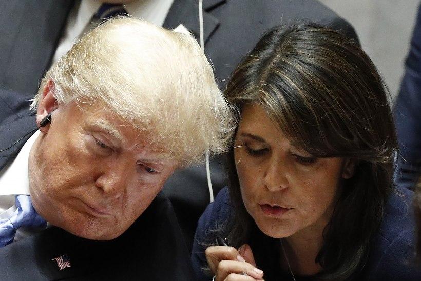 USA saadik ÜROs astus ootamatult tagasi