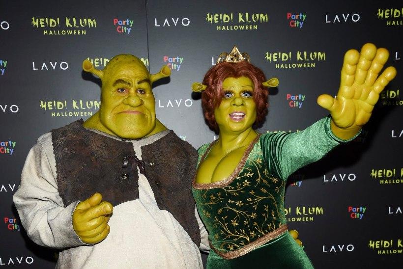 Pöörane Heidi Klum ületas oma halloweeni kostüümiga kõik ootused