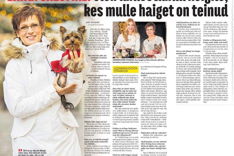 KOHUS OTSUSTAS: Kroonika laimas Erika Salumäed ning peab sportlasele maksma ligi 10 000 eurot