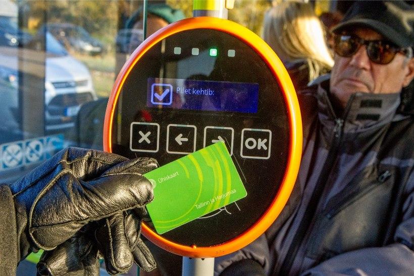 Tähelepanu Tallinna ühistranspordis: tervet rahakotti validaatori ees viibutades võid raha kaotada