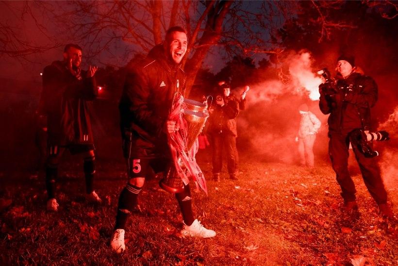 VIDEO | Jalgpalli tiitliheitluse kulminatsioon: kolme klubi miljonijaht lõppes Kalju triumfiga