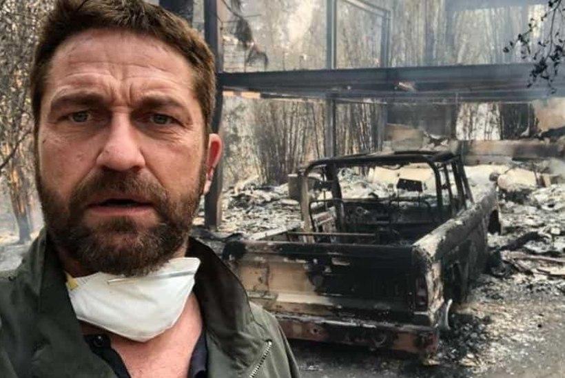 Gerard Butler, Miley Cyrus ja mitmed teised tähed kaotasid põlengus kodu