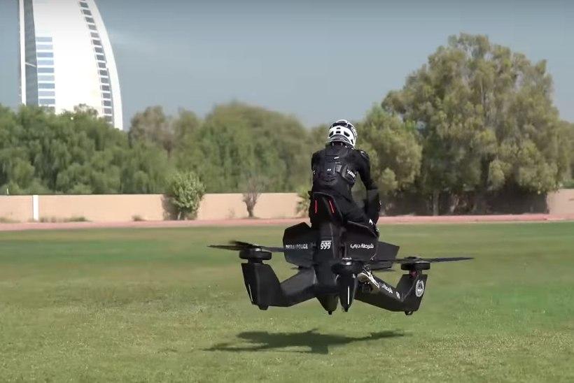 """Nagu """"Tähesõdadest"""": Dubai politsei hakkab patrullima lendavate masinatega"""