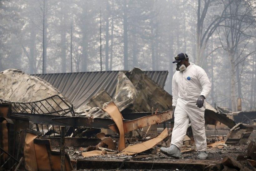 """""""KUI SURED, SURE VÄHEMALT VÕIDELDES!"""" California hiigelpõlengutes on hukkunud 50 inimest"""