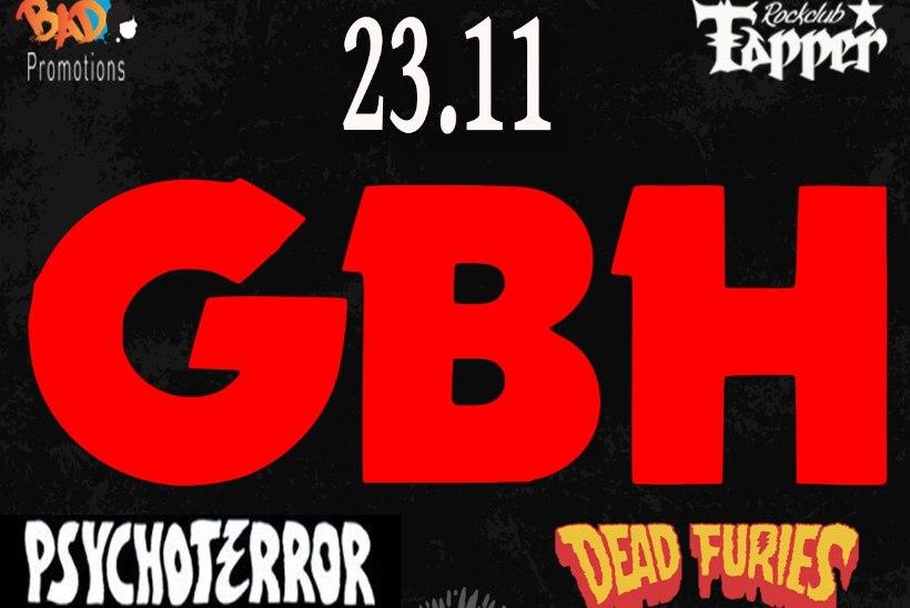 Briti punklegend GBH tuleb esmakordselt Eestisse