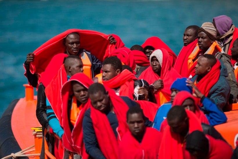 Põgenikevoog üle Vahemere Euroopasse on aeglustunud