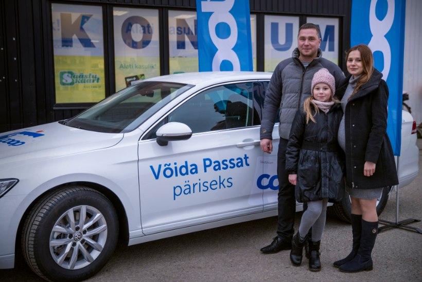 VIDEO | COOPi autoloosi võitja: mõtlesin esmaspäeval, et ostaks Passati – kolmapäeval helistati ja öeldi, et olen selle võitnud!