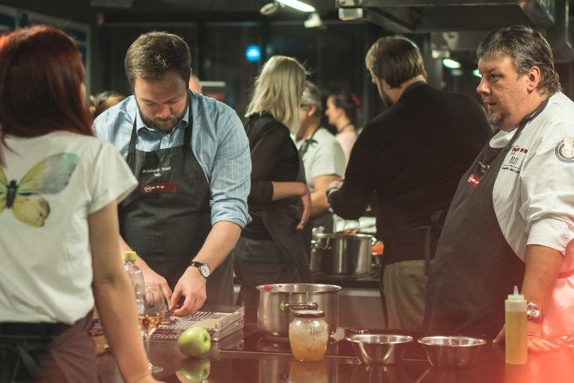 GALERII | Tippkokad õpetasid glamuuriüritusel põnevaid toite valmistama