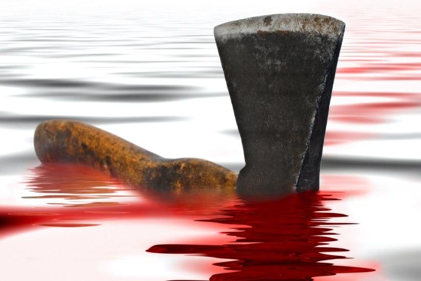 KOHUTAV: Venemaal lõi armukade mees abikaasal käed kirvega otsast