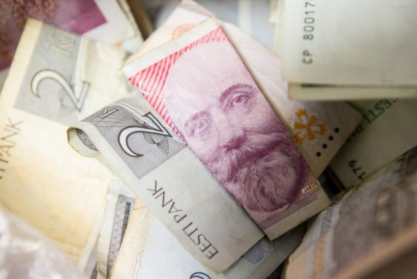 Ahjude ja raamatute vahel peitub veel 45 miljoni euro jagu Eesti kroone